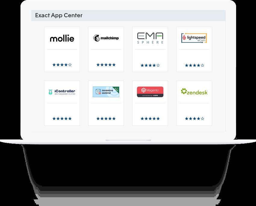 Koppel software met Exact voor Boekhouden