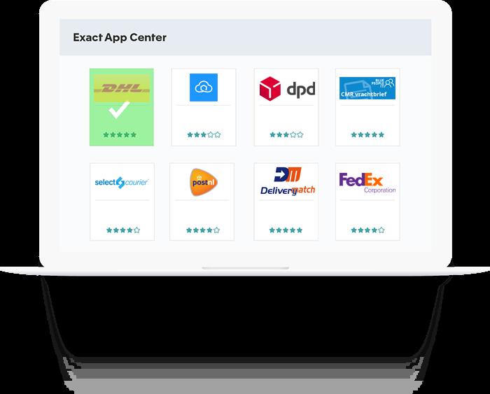 Webshop software koppelen aan koerier en boekhouding