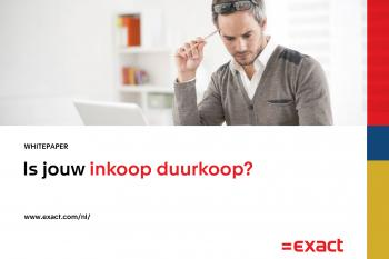 Whitepaper Finance: is jouw inkoop duurkoop?