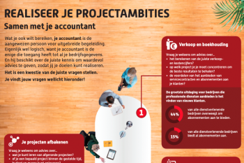 Infographic: Realiseer je project ambities samen met je accountant