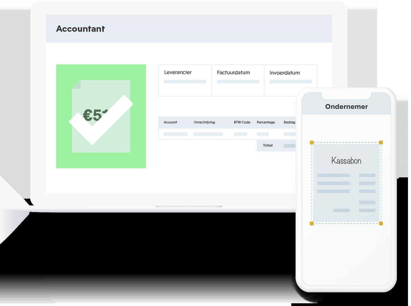 Online samenwerken met accountant