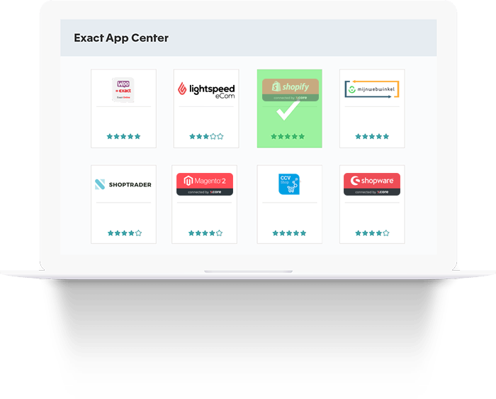 Koppel je webwinkel software met je boekhoudsysteem